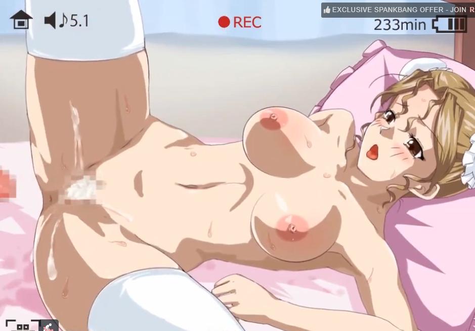 クッソボッキアニメ!!金髪お団子美少女を心行くまで犯すモーションで美巨乳の揺れが半端なし泡立つザーメン濃厚種付け!!