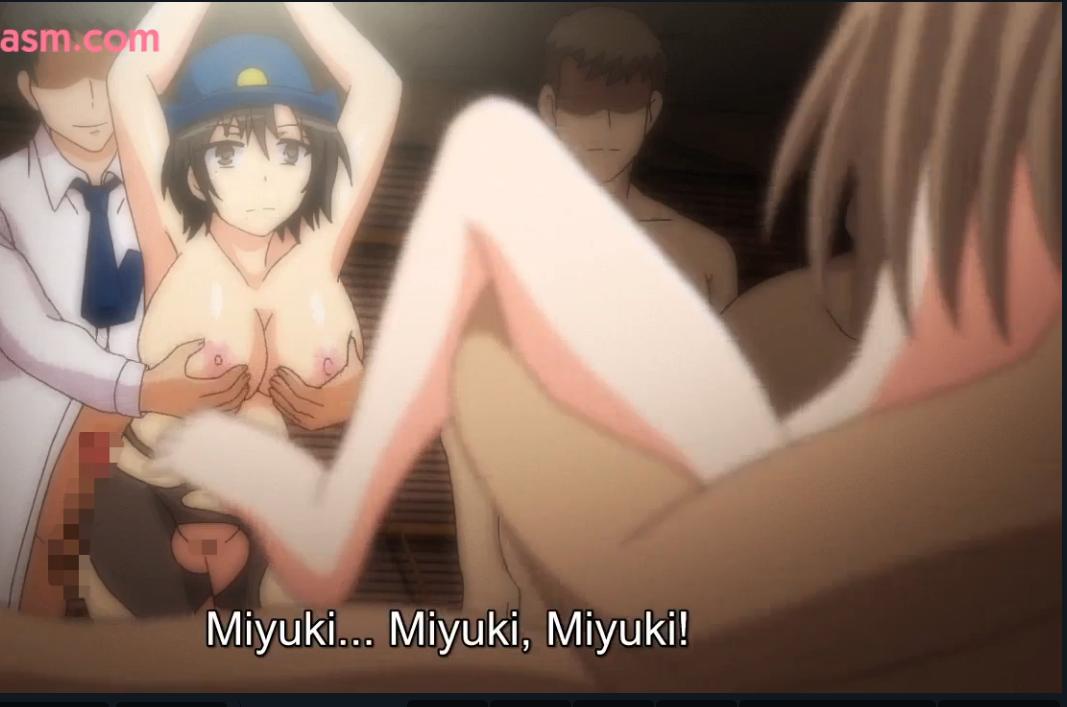 ヌケルアニメキター!!強気な女警官を目隠しファック!!媚薬でビンビンおっぱいも揺れる濃厚種付けリベンジ♡